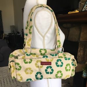 Bungalow 360 Purse Earth Day Recycle Canvas
